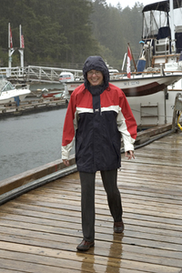Karen_in_rain_at_gorge_harbor